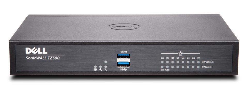 DELL SonicWALL TZ500 1400Mbit 01 SSC 0211