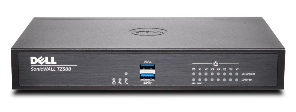 DELL SonicWALL TZ500 8x5 Support 1Y 1400Mbit