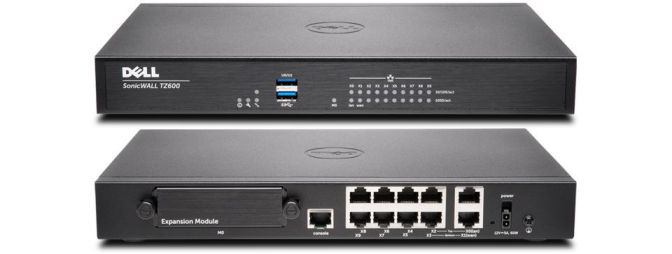 DELL SonicWALL TZ600 Total Secure 1Yr 1500Mbit