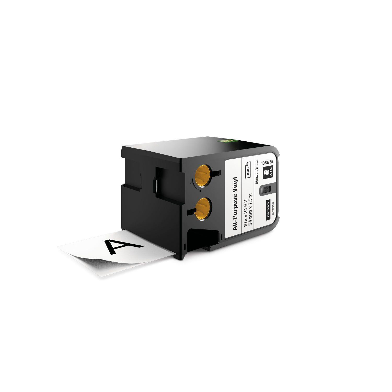 Ver DYMO 1868755 Negro sobre blanco cinta para impresora de etiquetas