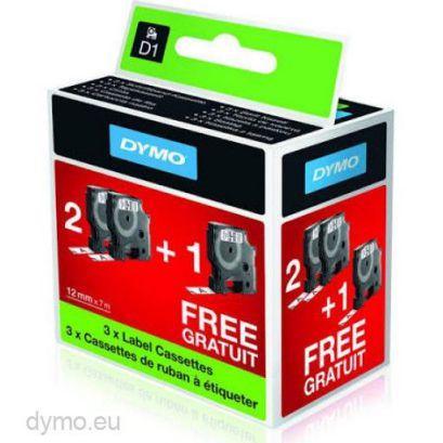 DYMO 2010102 Negro sobre blanco D1