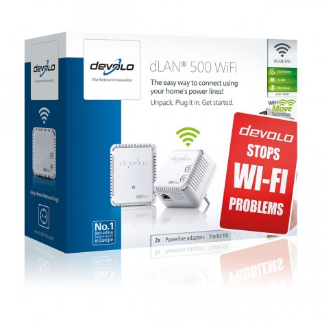 Ver Devolo DLAN 500 WIFI STARTER KIT