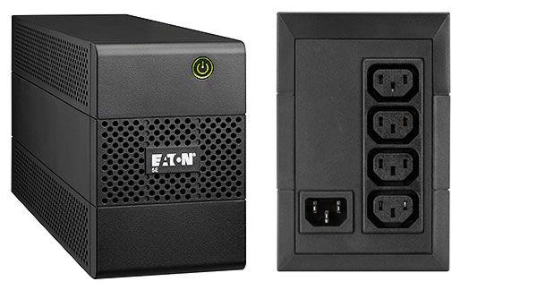 Eaton 5E650I Linea interactiva 650VA Torre Negro sistema de alimentacion ininterrumpida UPS