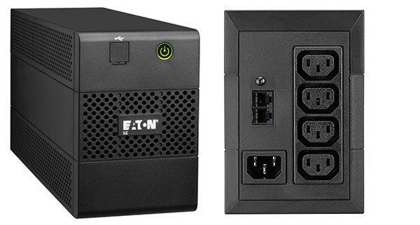 Ver Eaton 5E850iUSB Linea interactiva 850VA Torre Negro