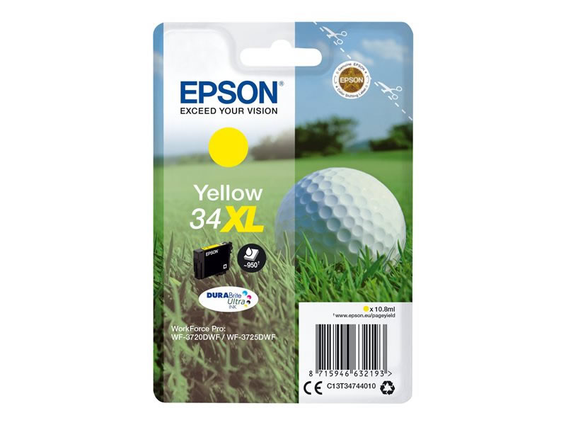 Epson 34XL Amarillo