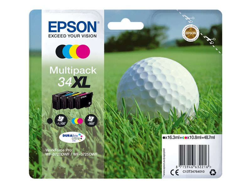 Ver Epson 34XL Multipack