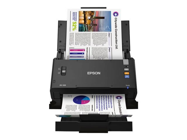 Ver Epson WorkForce DS 520 Escaner de documentos