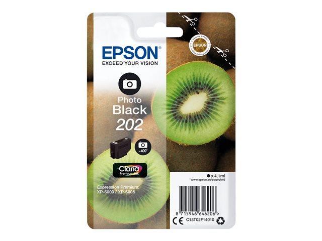Epson 202 NEGRO FOTO