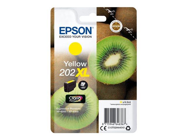 Ver Epson 202xl AMARILLO