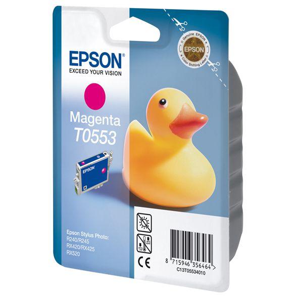 Ver Epson Cartucho T0553 magenta