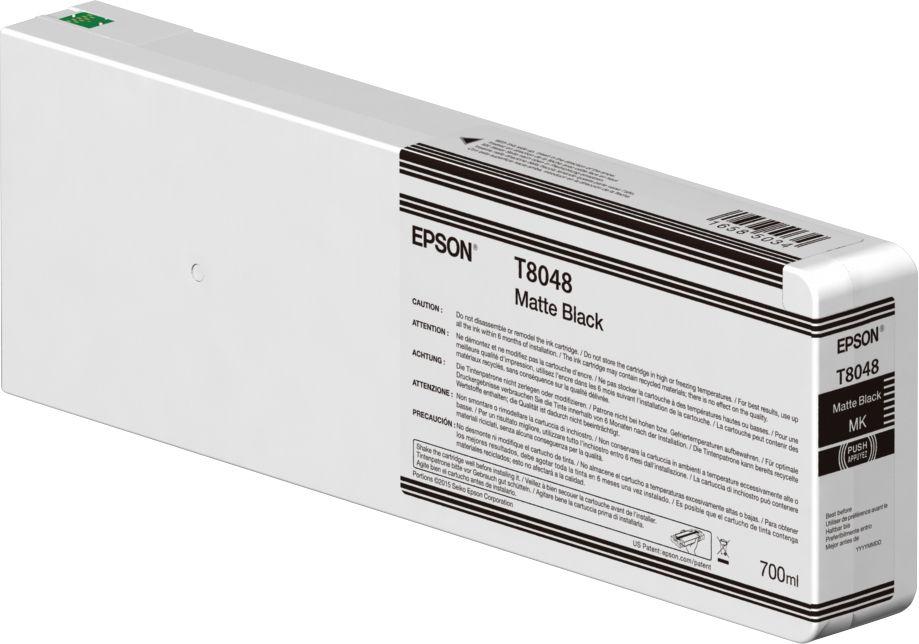 Epson Singlepack Matte Black T804800 UltraChrome HDX