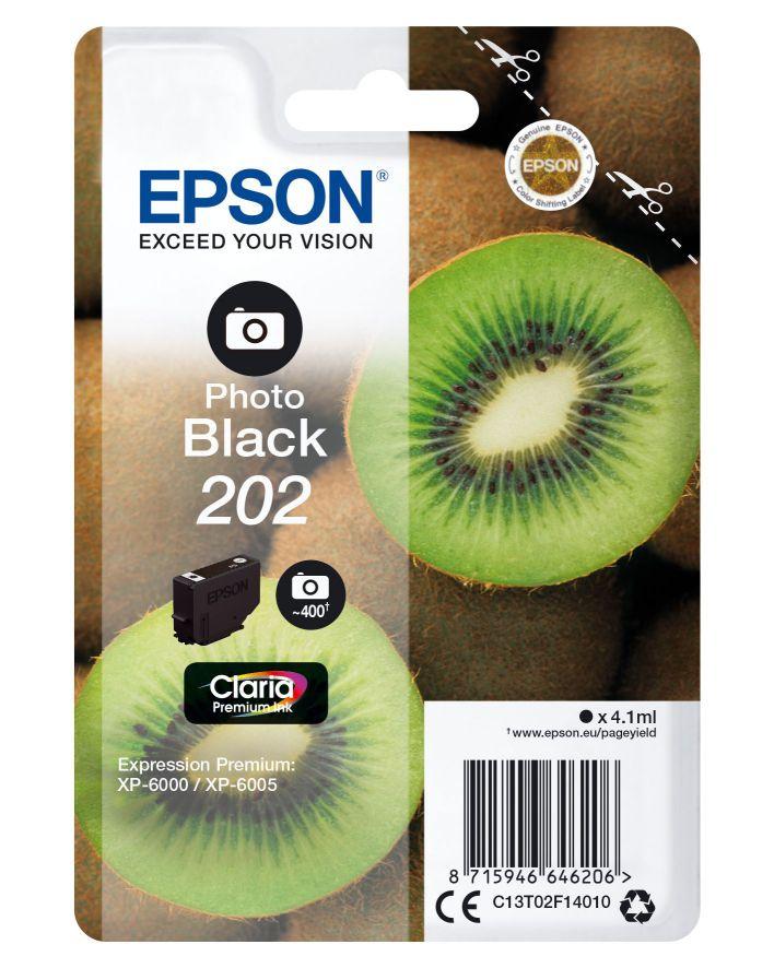 Epson Singlepack Photo Black 202 Claria Premium Ink