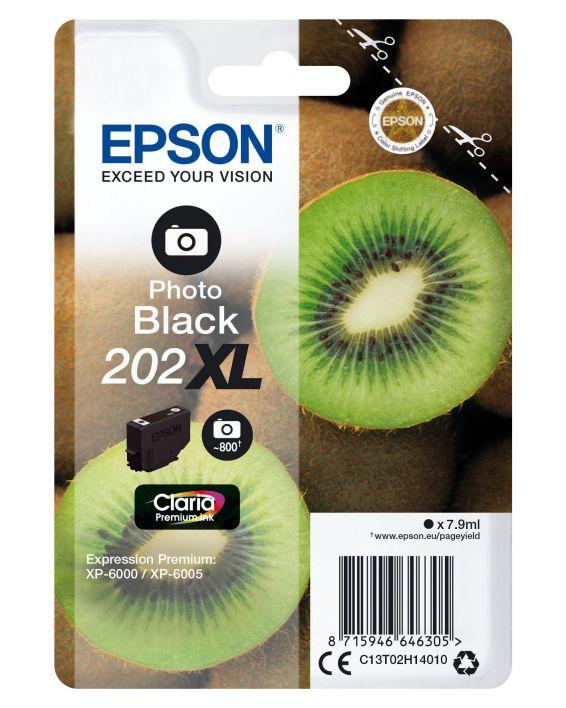 Ver Epson Singlepack Photo Black 202XL Claria Premium