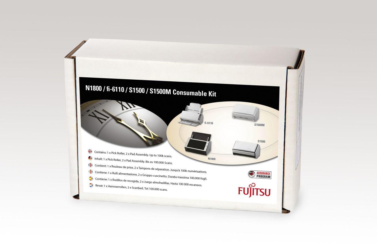 Ver Fujitsu CON 3586 013A Scanner Consumable kit pieza de repuesto de equipo de impresion