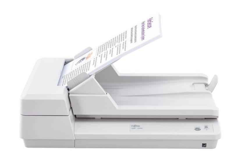 Ver Fujitsu SP 1425 Base plana y ADF 600 x 600DPI A4