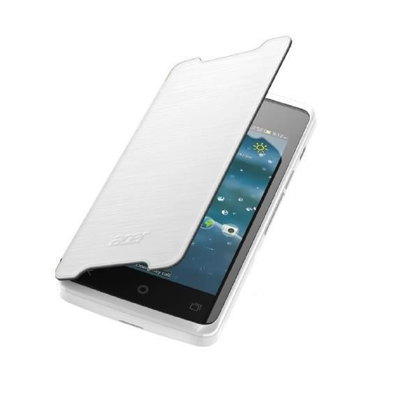 Moviles Funda Acer Z200 Flip Cover Blanca