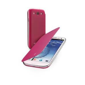 Funda Galaxy S3 Cellular Line Rosa