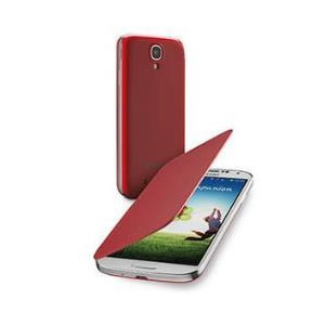 Funda Galaxy S4 Cellular Line Roja