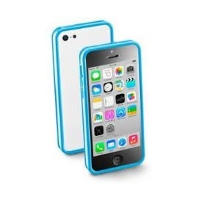 Funda Iphone 5c Cellular Line Negro Plastico
