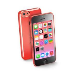Funda Iphone 5c Cellular Line Rosa Plastico