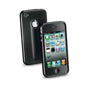 Funda Iphone 4 Negra Cellular Line Shckiphone4bk