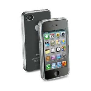 Funda Iphone 4 Transparente Cellular Line Invisibleciphone4