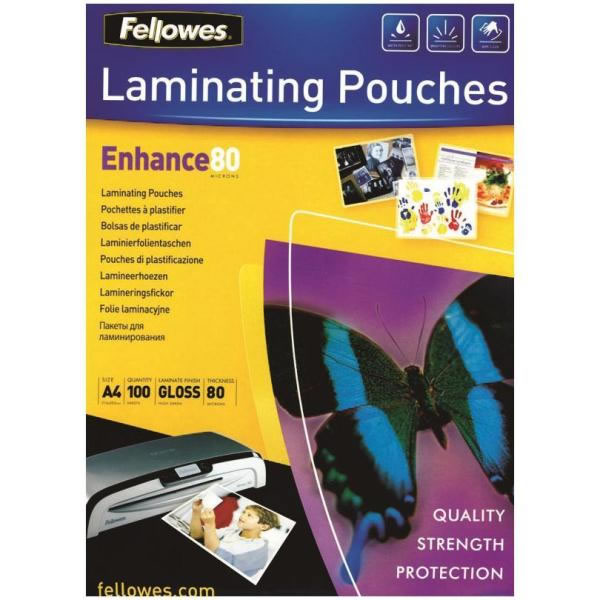 Ver Fundas brillo para plastificar Fellowes 5306114