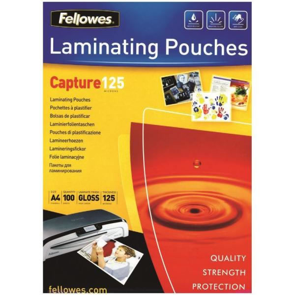 Ver Fundas plastificar Capture Fellowes 5307506