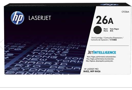 Ver HP 26A Black Original LaserJet Toner Cartridge