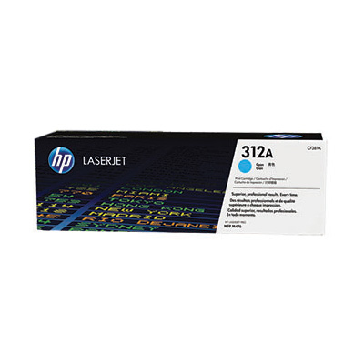 HP 312A Cyan Original LaserJet Toner Cartridge