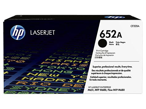 Ver HP 652A Black Original LaserJet Toner Cartridge
