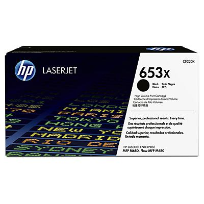 Ver HP 653X High Yield Black Original LaserJet Toner Cartridge