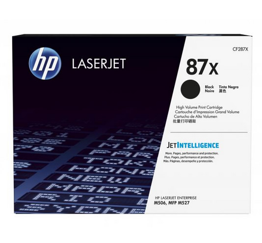 Ver HP 87X High Yield Black Original LaserJet Toner Cartridge
