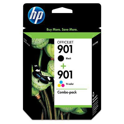 HP 901 Ink Cartridge 2 Pack