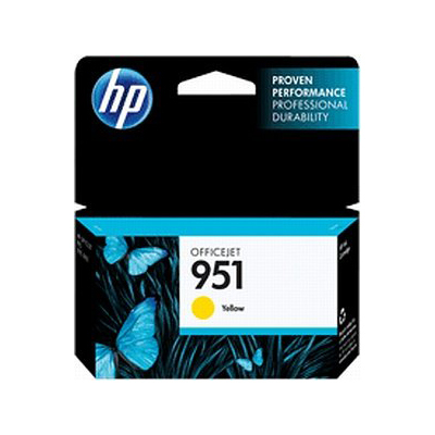 Ver HP 951 Yellow Officejet Ink Cartridge