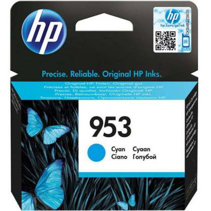 Ver HP 953 Cyan Original Ink Cartridge BLISTER