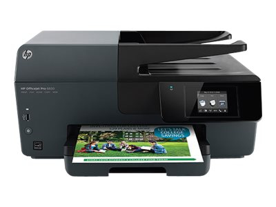 Ver HP Officejet Pro 6830 e All in One