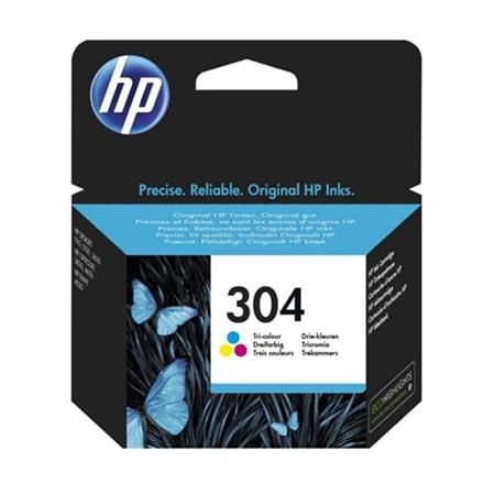 Ver HP 304 Tri Colour Original Standard Capacity Ink Cartridge