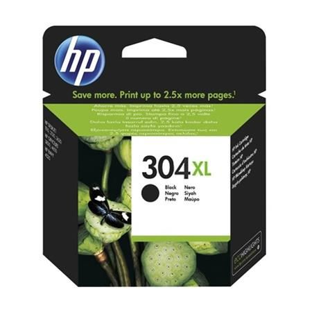 Ver HP 304XL Black Original High Capacity Ink Cartridge