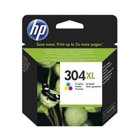 HP 304XL Tri Colour Original High Capacity Ink Cartridge