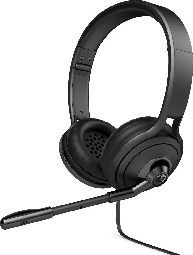 Ver HP 500 Binaural Diadema Negro auricular con microfono