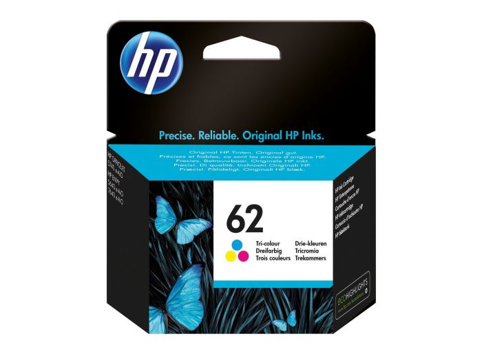 HP 62 Tri color Ink Cartridge 45ml 165paginas Cian Amarillo