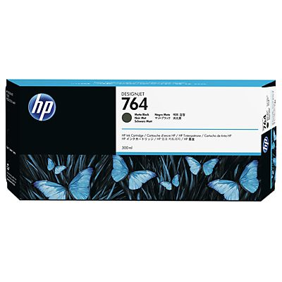 HP 764 300 ml Matte Black Ink Cartridge Negro mate