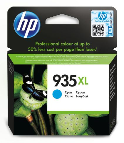 HP 935XL High Yield Cyan Original Ink Cartridge Cian