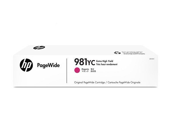 Ver HP 981YC Extra High Yield Magenta Original PageWide Cartridge Cartucho 16000paginas Magenta