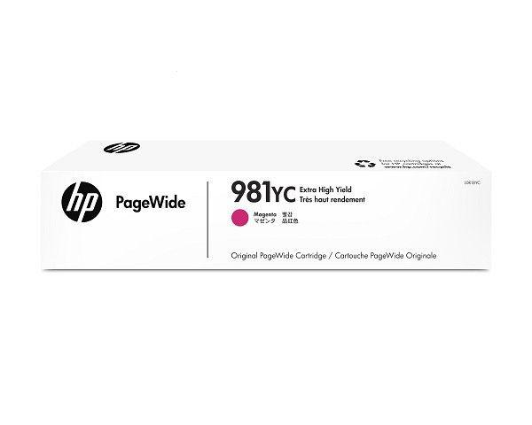 HP 981YC Extra High Yield Magenta Original PageWide Cartridge Cartucho 16000paginas Magenta