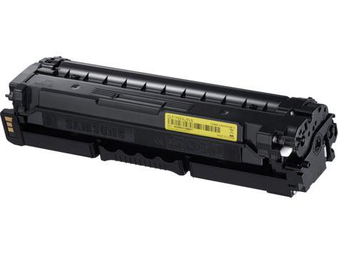 Ver HP CLT Y503L Toner de laser Amarillo
