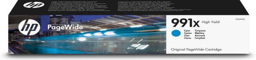 HP Cartucho Original PageWide 991X de alta capacidad cian