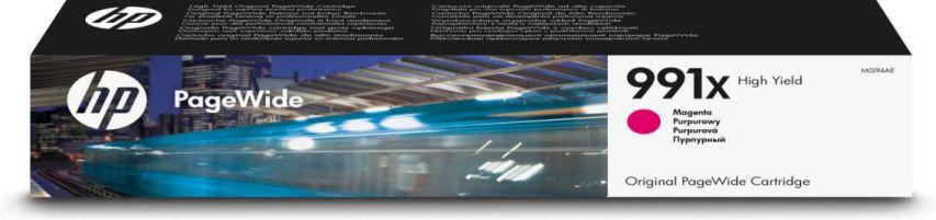 HP Cartucho Original PageWide 991X de alta capacidad magenta