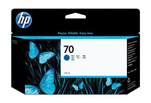 Ver HP Cartucho de tinta DesignJet 70 azul de 130 ml